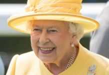 The Queen at Ascot yesterday after opening Parliament Photo (C) GETTY IMAGES
