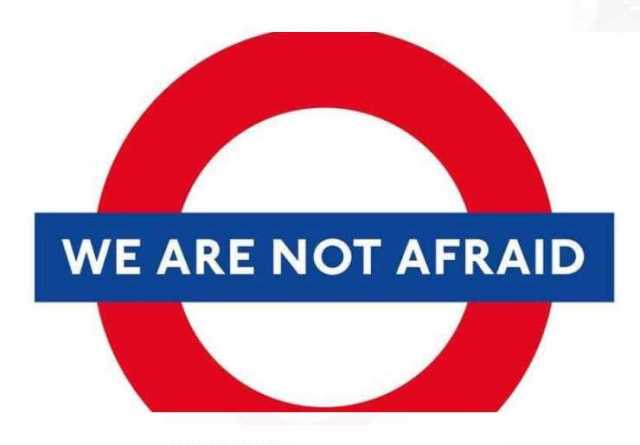 We are not afraid Photo (C) GETTY IMAGES