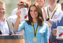 Kate Middleton in Heidelberg - where she got to meet our very own George Pippas Photo (C) GETTY IMAGES