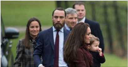 William and Kate brought their children, nearly 4-year-old Prince George and 2-year-old Princess Charlotte, to the service as well, which was led by Justin Welby, the Archbishop of Canterbury