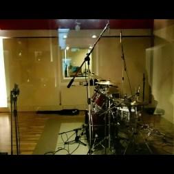 Bild von einem Drumrecording