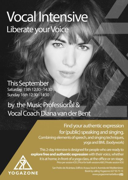 Announcement Liberate your Voice