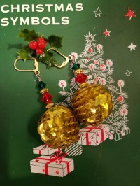 Tacky Holiday Earring Blog Hop Reveal!