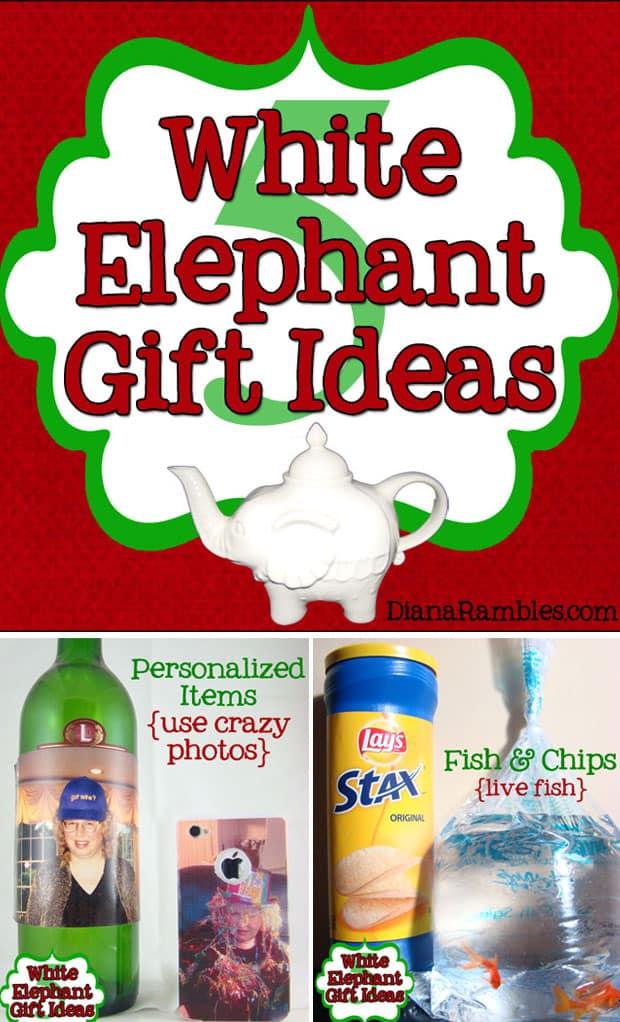 hilarious white elephant gift