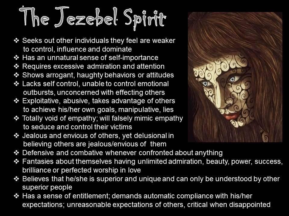 Jezebel Spirit
