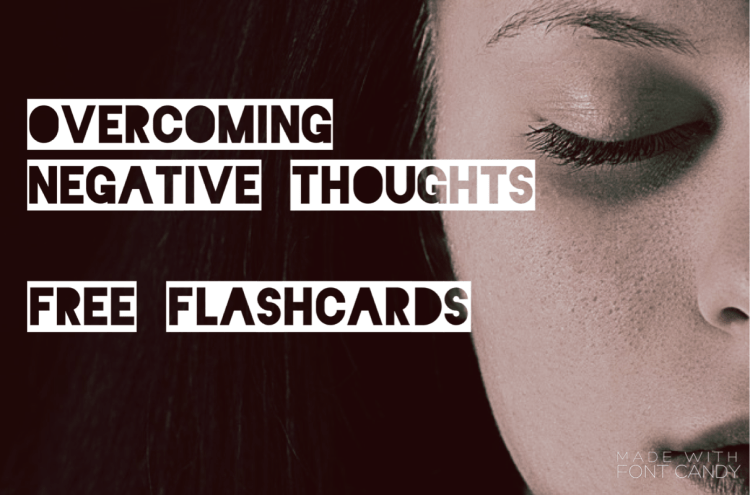 Flashcards for Anxiety and Depression