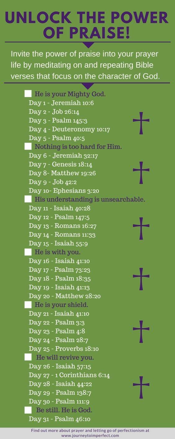 praise verses