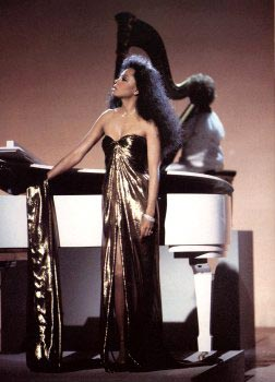 Diana Ross at the 1987 TV special