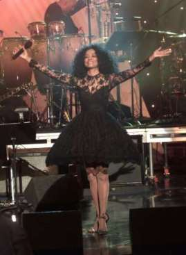 Diana Ross at Tsunami Aid: A Concert of Hope