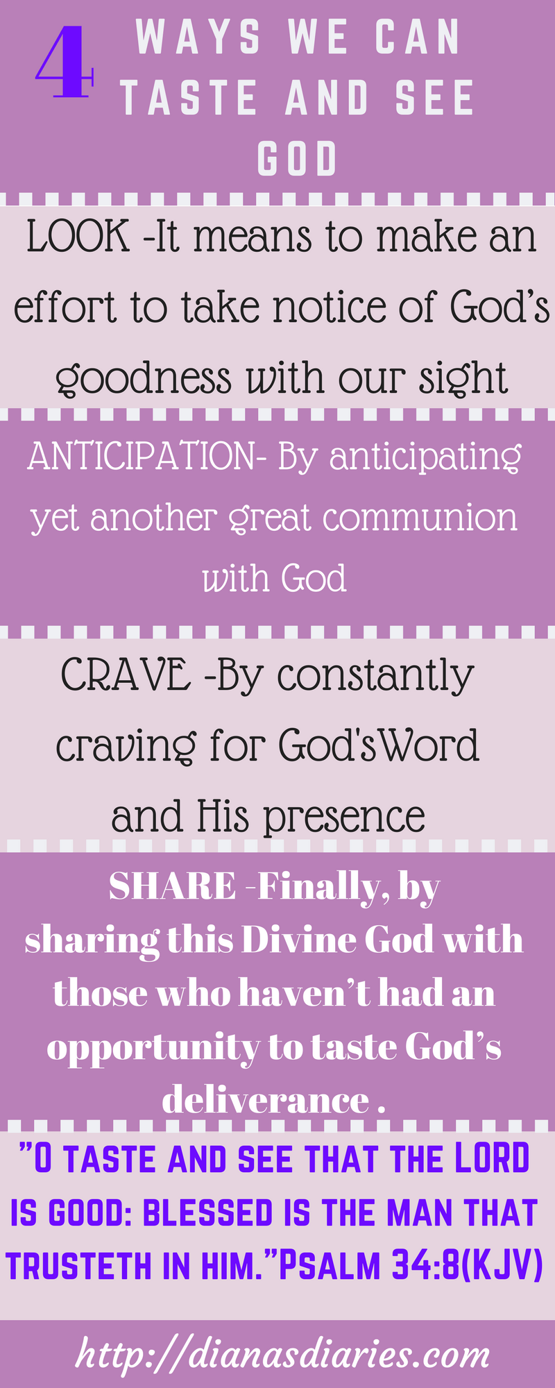 Taste and See God:Bible
