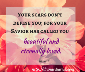 Jesus can handle all our scars
