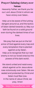 Prayer for every Christian to claim victory in Jesus