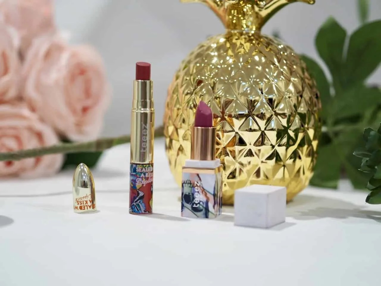 Kiss and Tell Teeez Cosmetics Lipsticks