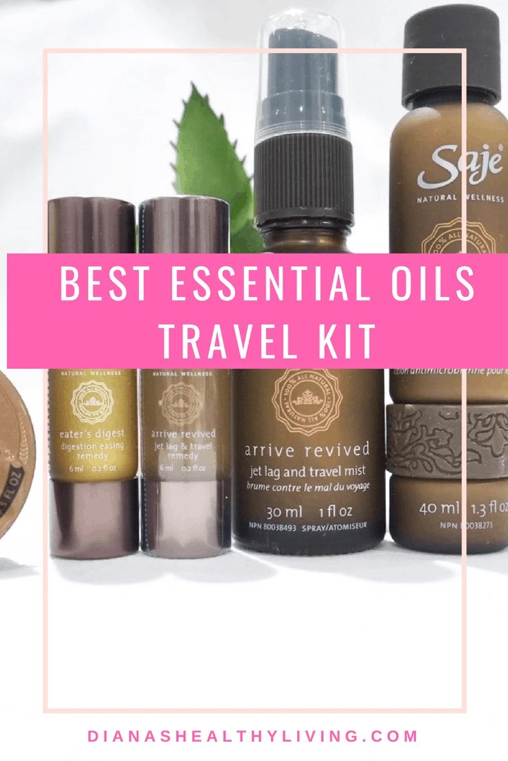 SAJE ESSENTIAL OILS TRAVEL KIT