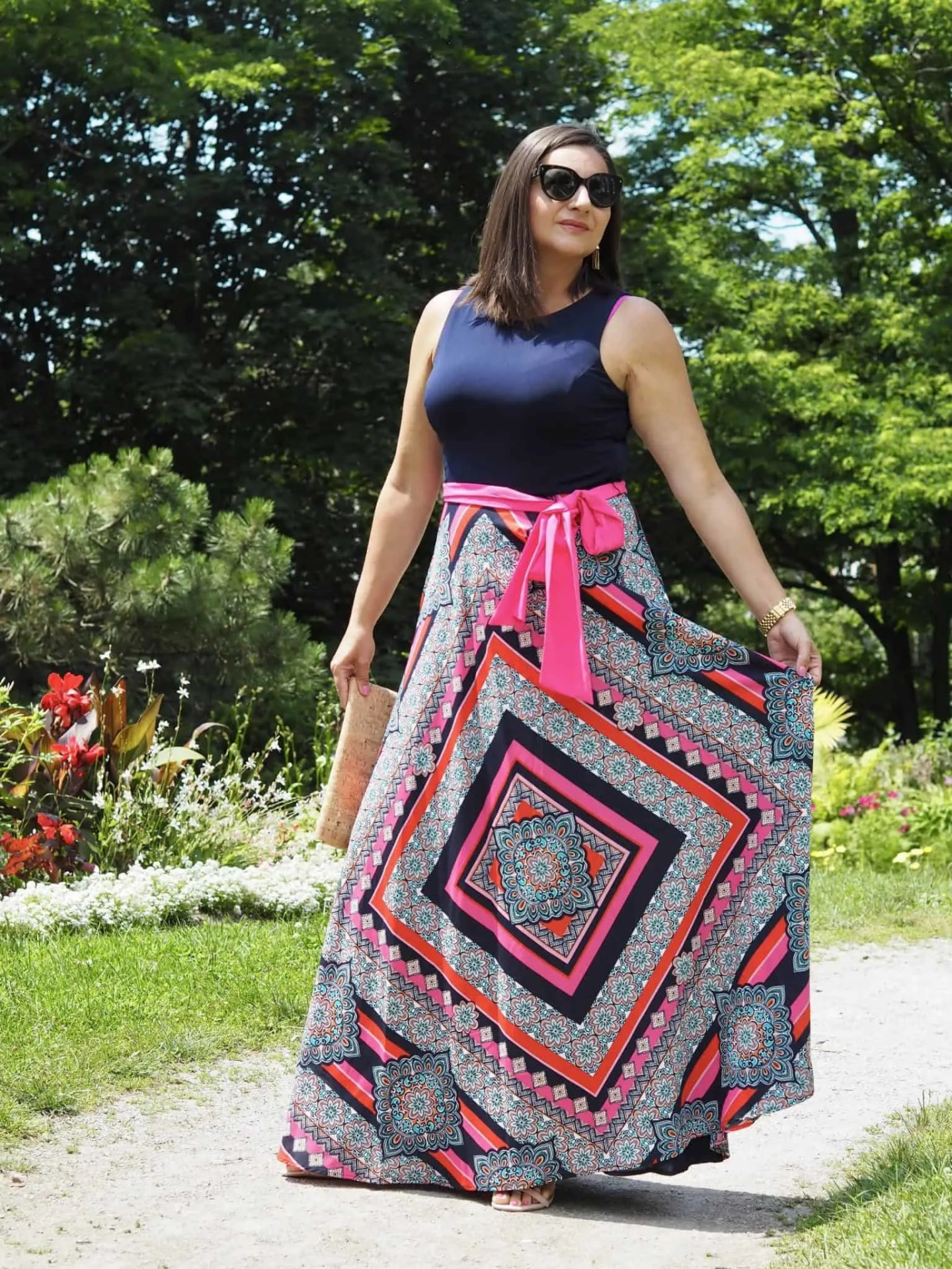 Summer Maxi Dress Eliza J