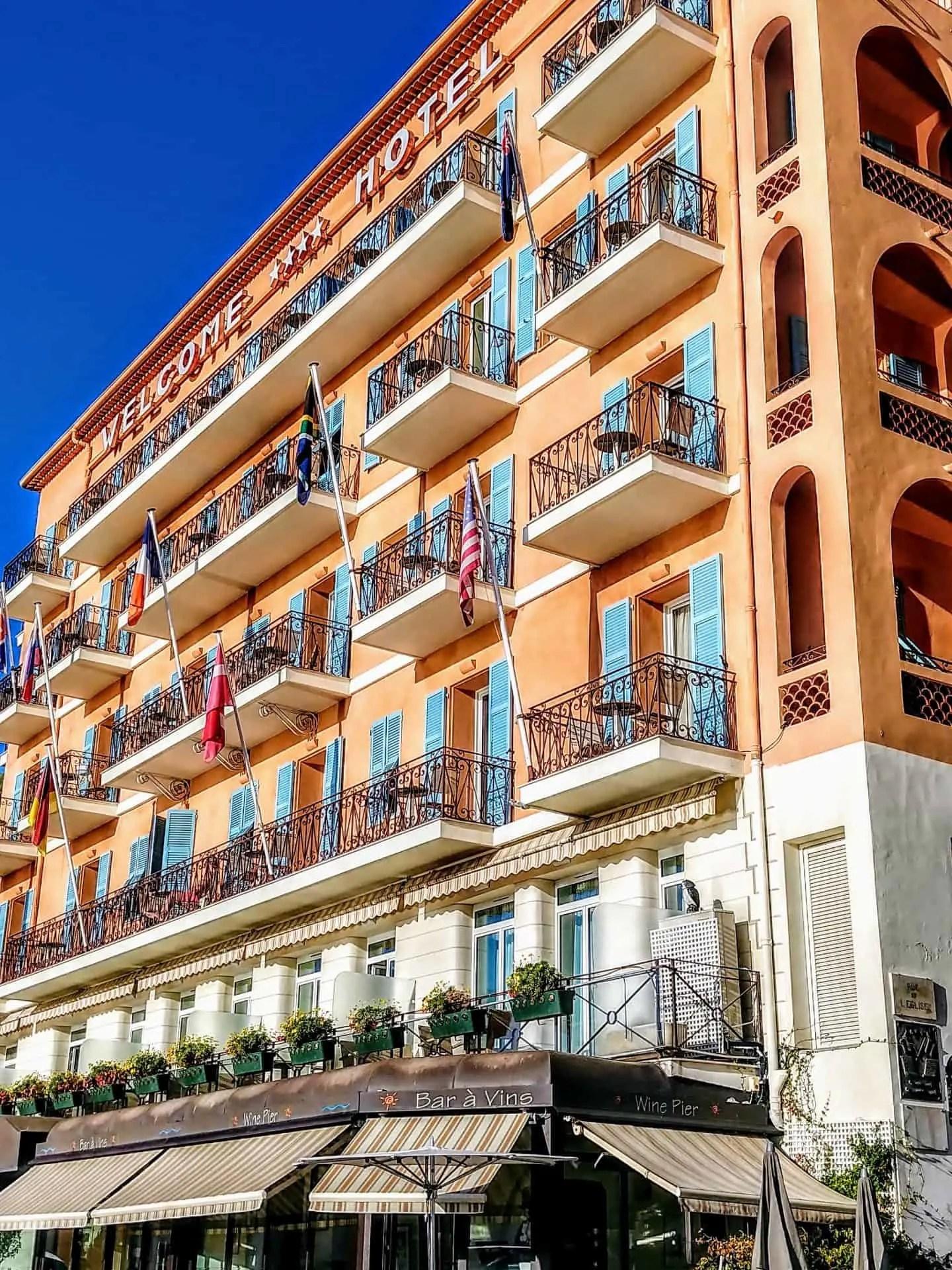 Hotel Welcome Villefranche sur Mer  Dianas Healthy Living