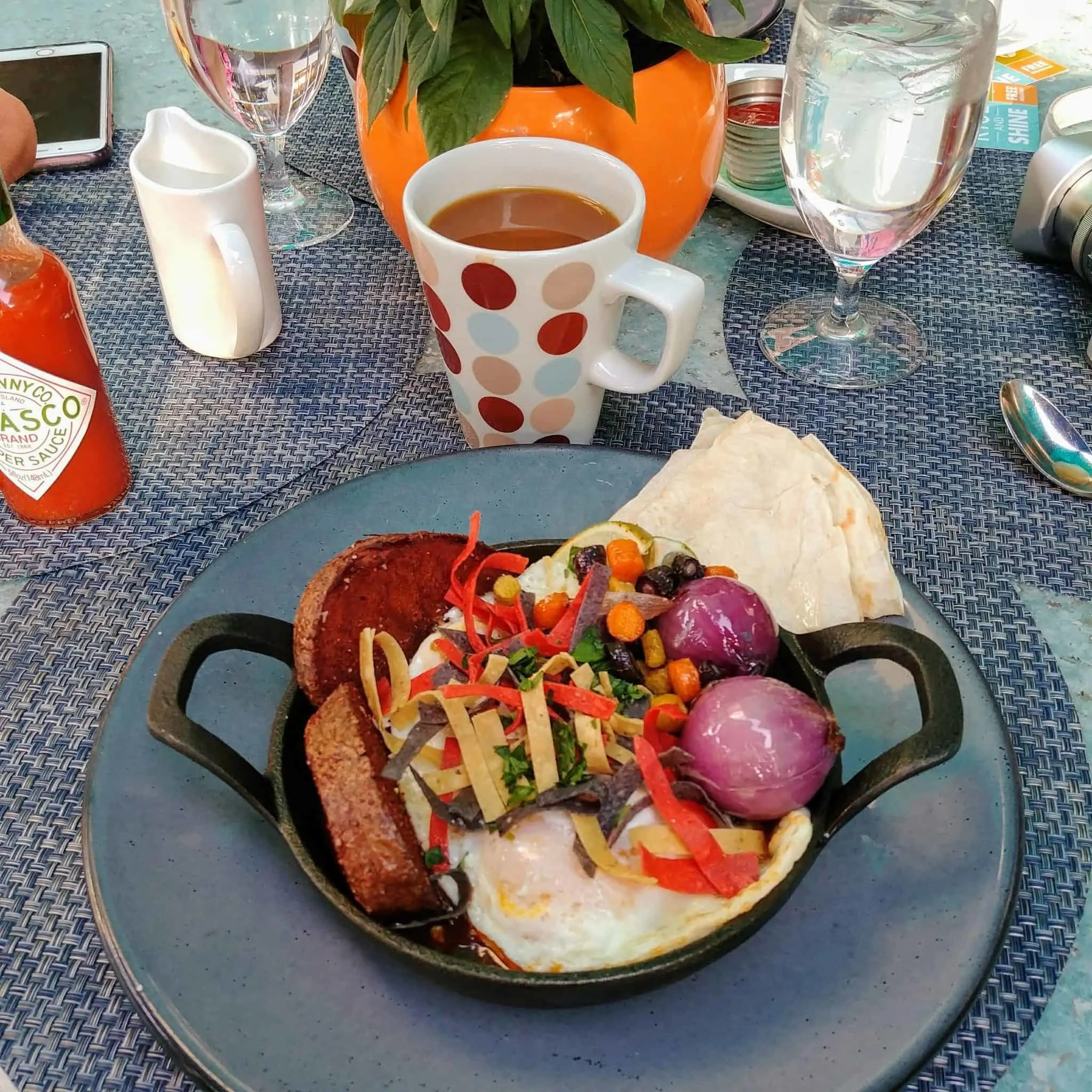 ZuZu breakfast Hotel Valley Ho tex mex breakfast in scottsdale arizona