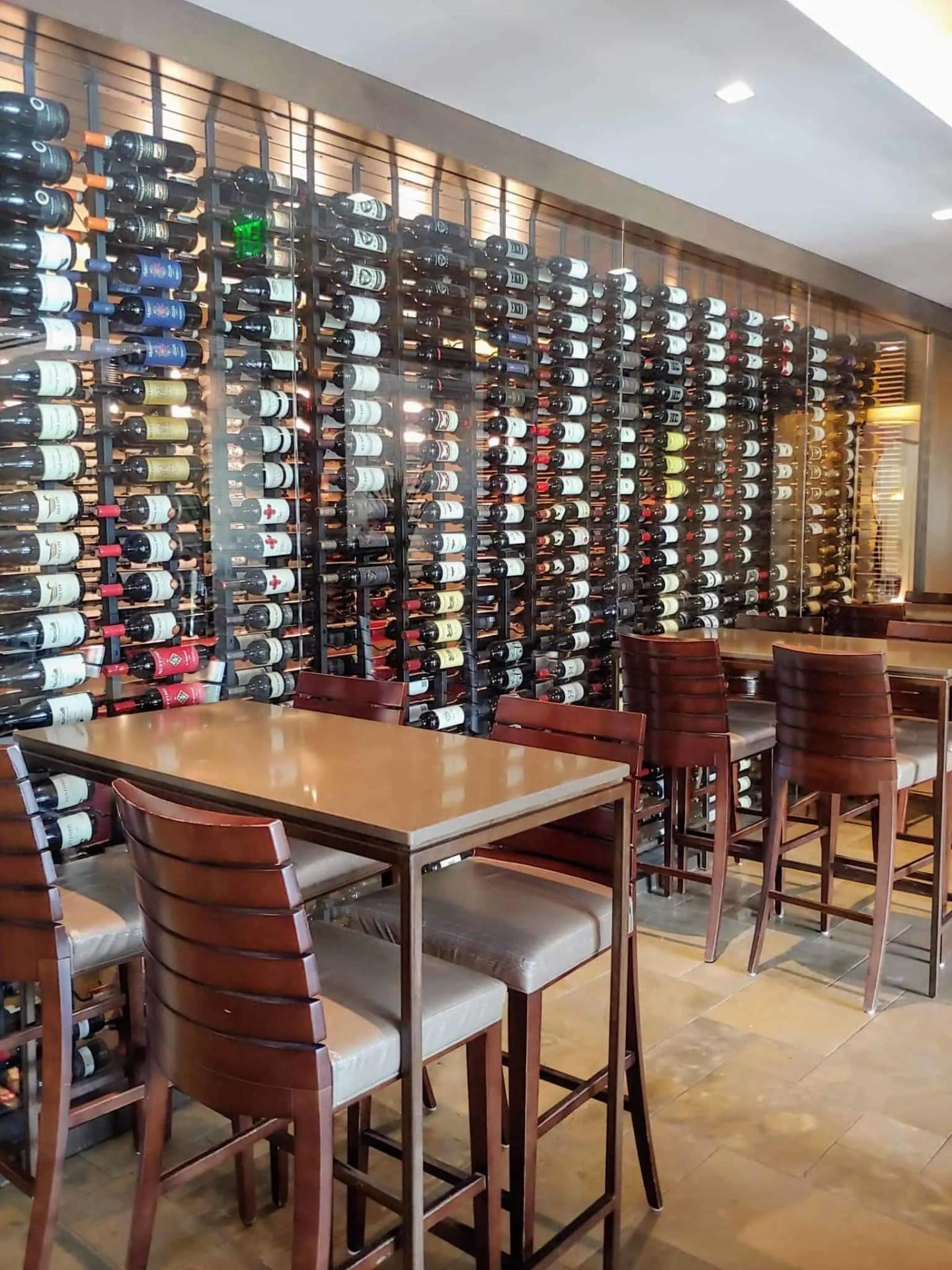 Atlantic Grille wine bar