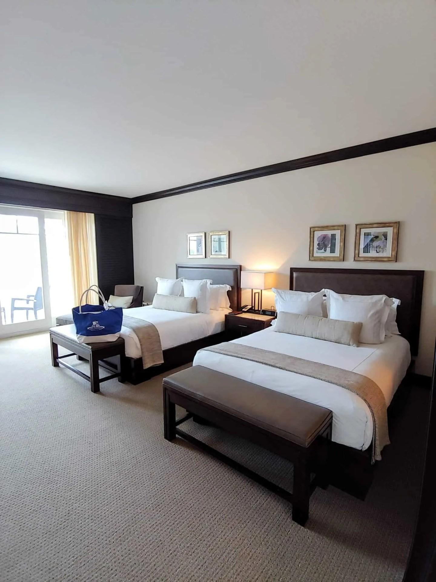 large double queen room