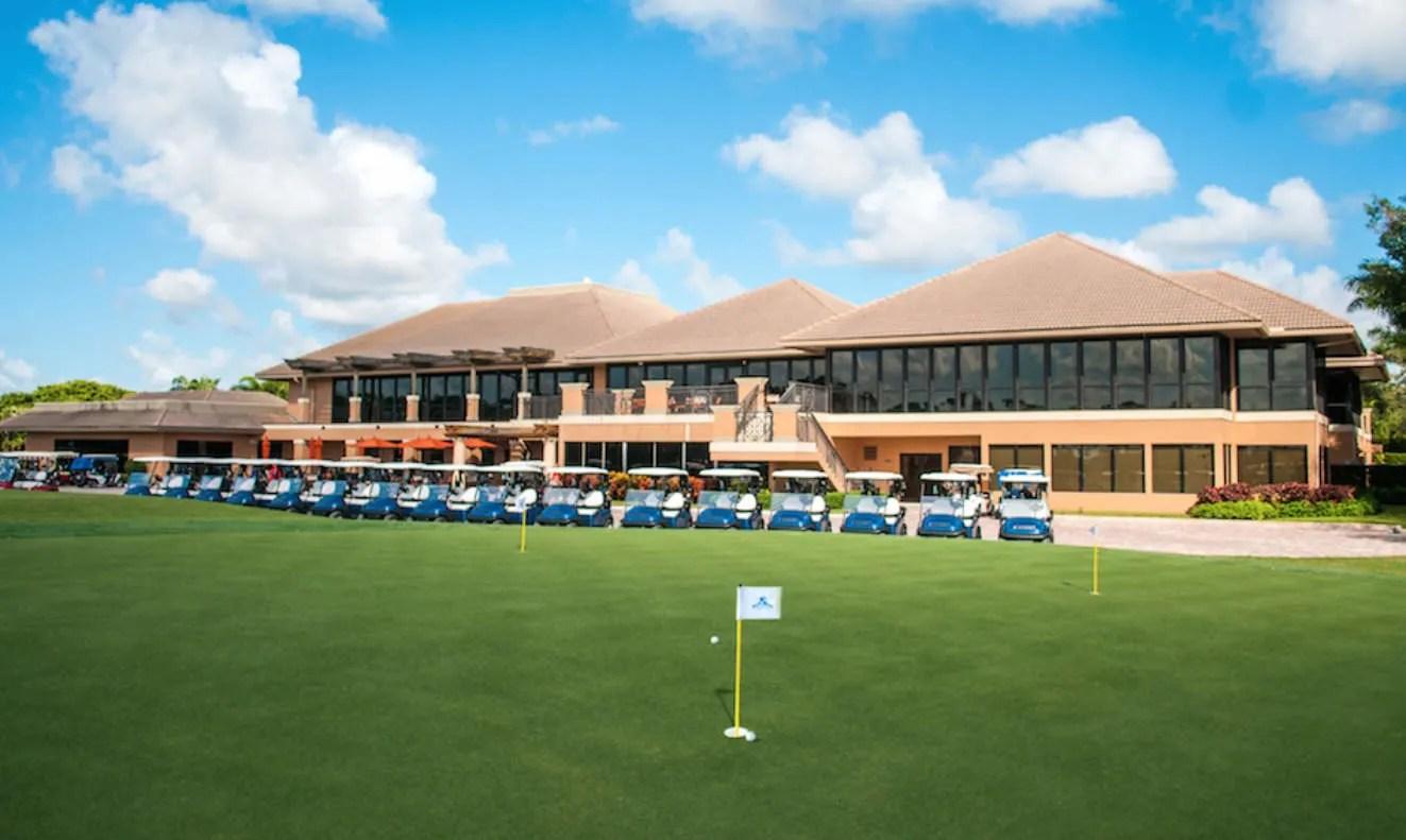 Seagate Hotel golf course