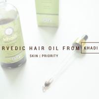 Uleiul tratament pentru păr de la Khadi- ce și cum