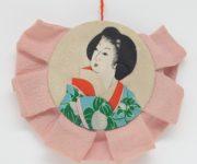 Antique Powder Compact Case Japan