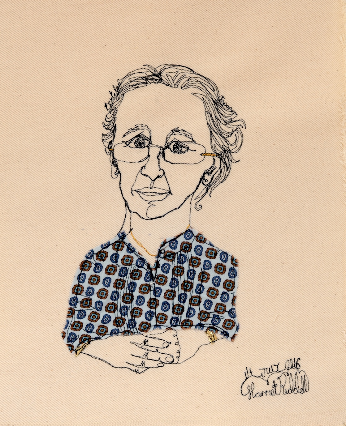 Portrait of Diana Springall