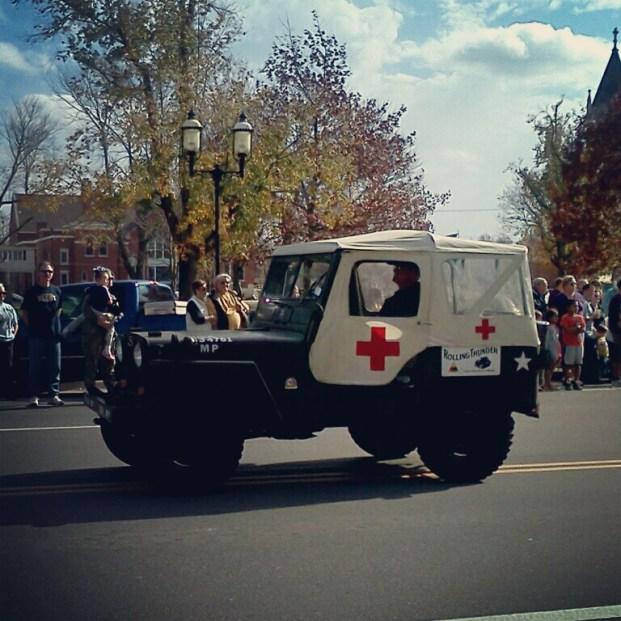 A medics' Jeep.