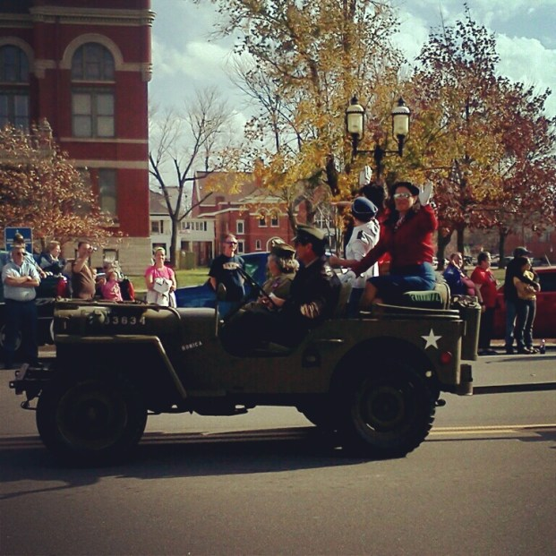 An organization called the Kansas City Bettys celebrates the women who kept the country going during World War II. http://kcbetties.org