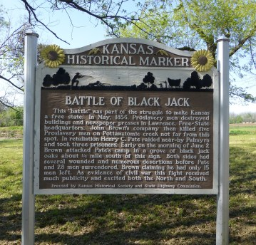 May 11 2013 Black Jack Battlefield Historic Marker