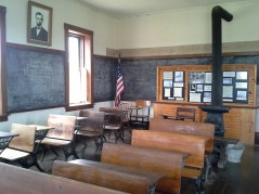 Lower Fox Creek School Interior.