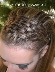 basket weave hairstyle