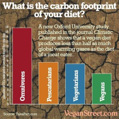 Carbon Footprint by Diet