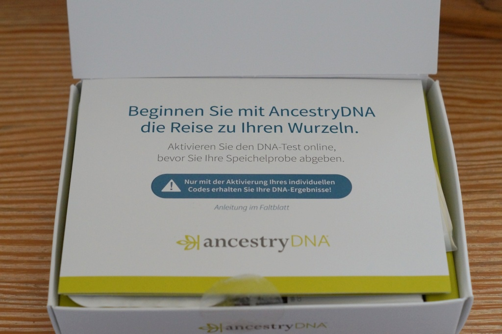 Ancestry DNA Test machen