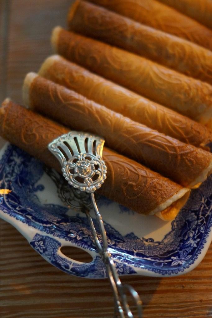 Neujahrskuchen Ostfrisische Krüllkuchen backen