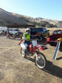 Me on my CRF