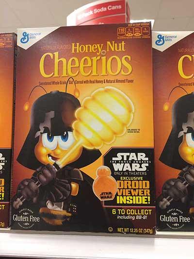 Star Wars Cheerios
