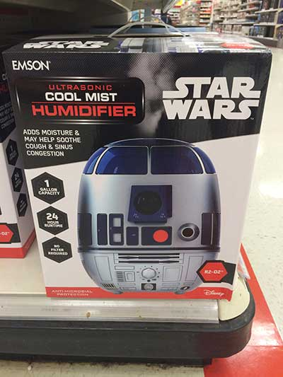 Star Wars R2D2 Humidifier
