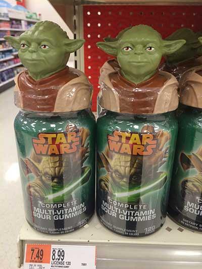 Star Wars Vitamins