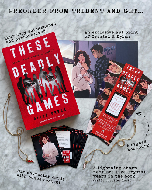 Preorder These Deadly Games from Trident Booksellers