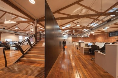 WORKSPACE INTERIORS: T2 Headquarters, Melbourne