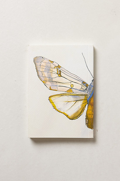 Anthropologie butterfly notebook