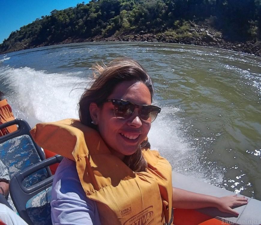 Passeio de barco do Macuco Safari