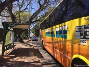 ônibus foz do iguaçu argentina