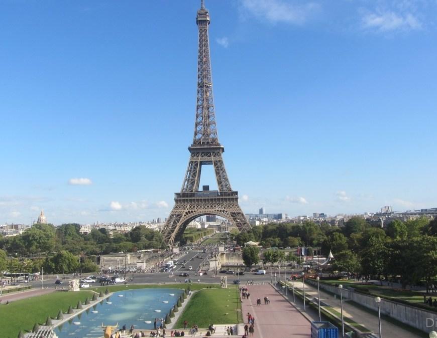 Paris Torre Eiffel Trocadero