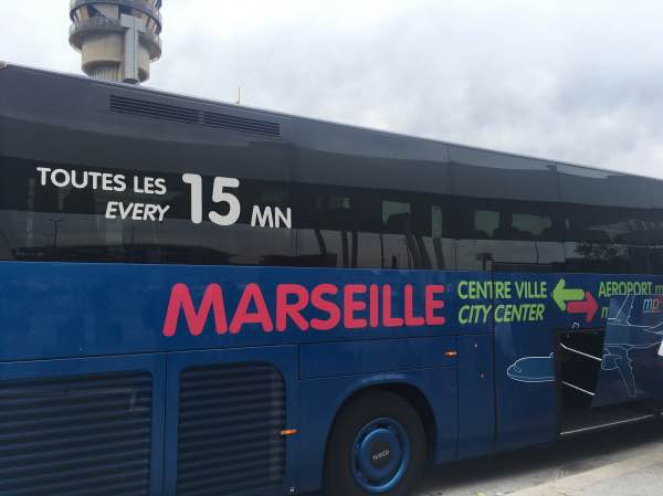 Onibus Marselha St Charles