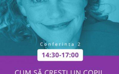 Cum să crești un copil inteligent emoțional – Conferință Laura Markham (live blogging)