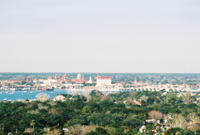 View of Town from Lighthouse