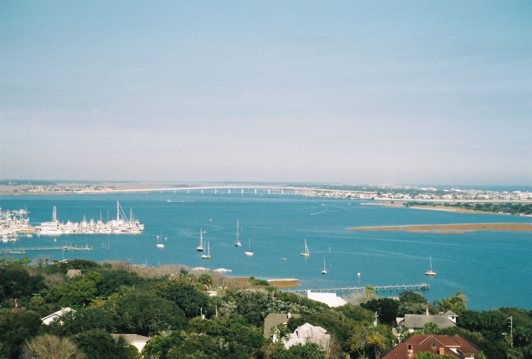 View of Inlet from Lighthouse