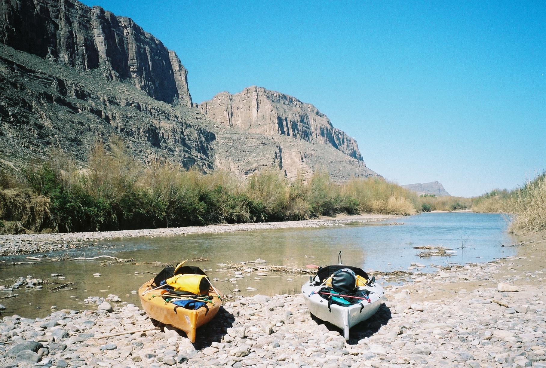 Kayaking the Rio Grande
